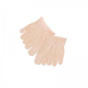 銀のシルク爪先ソックス