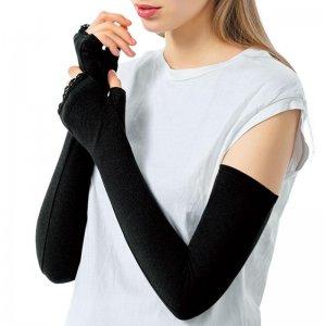 写真:涼感美シリーズ UVカット手袋 ロングアームカバー